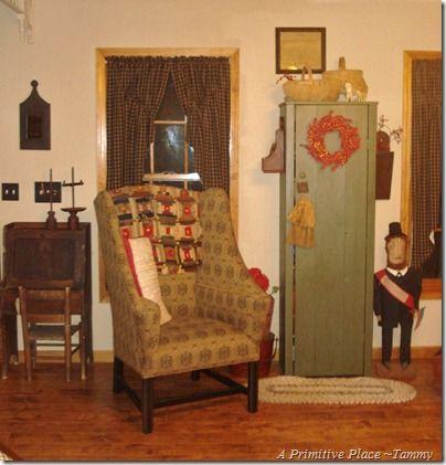 a primitive place tammy prims pinterest chairs
