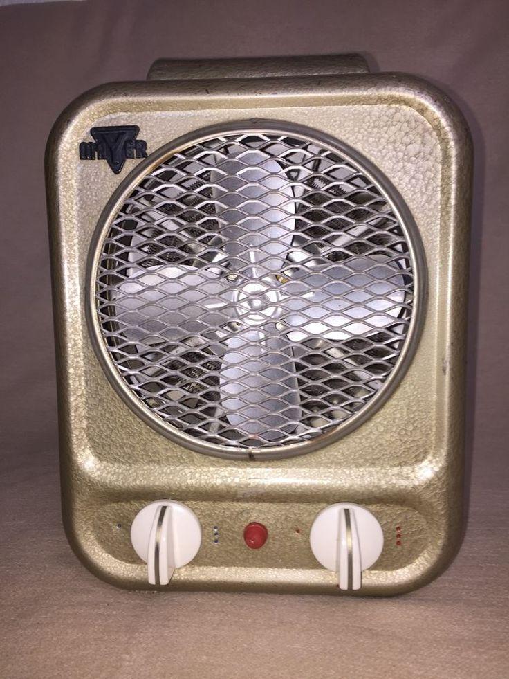Ventilator Heizlüfter Warmlüfter Mayer electric Fan & Heater 50er