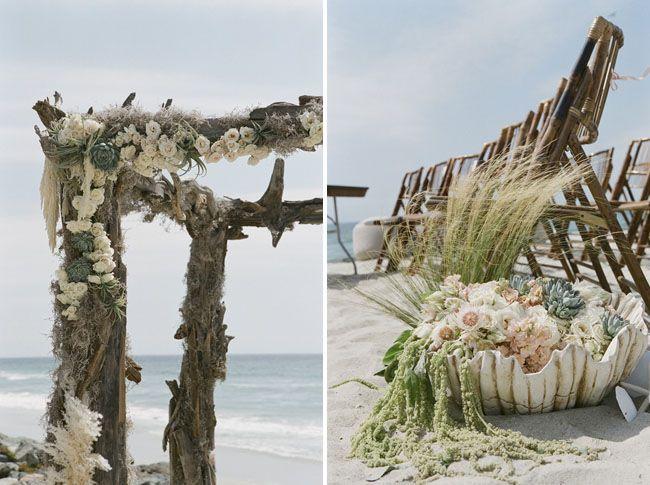 Vintage Beach Wedding Ceremony: 215 Best Images About Beach Wedding Ceremony Ideas On