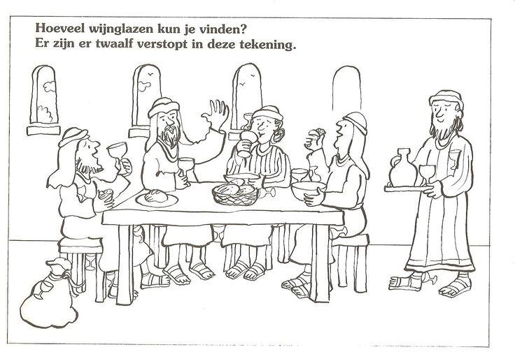 hoeveel wijnglazen kun je vinden? er zijn er 12 verstopt in deze tekening.