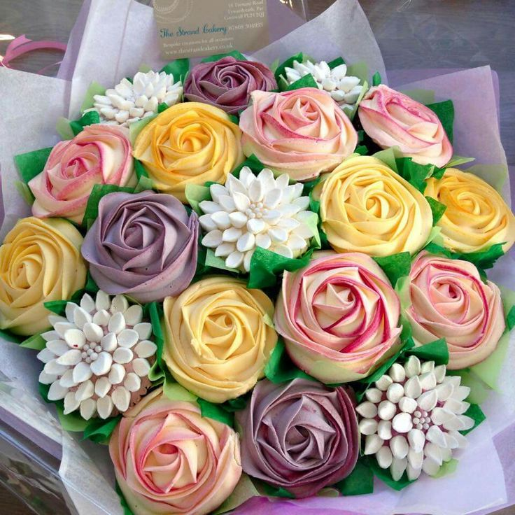 Best cupcake bouquets ideas on pinterest