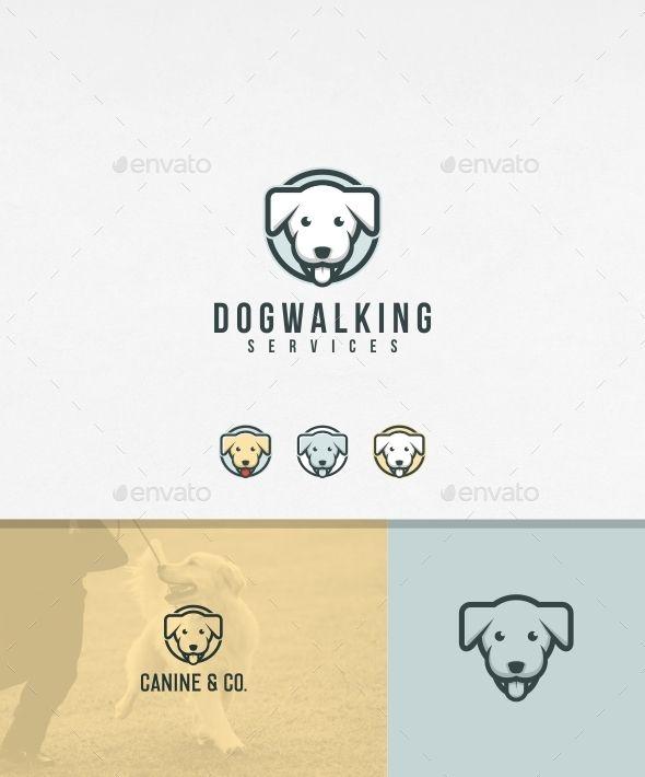 Dog Walking Logo Template #design #logotype Download: http://graphicriver.net/item/dog-walking-logo-template/12852119?ref=ksioks