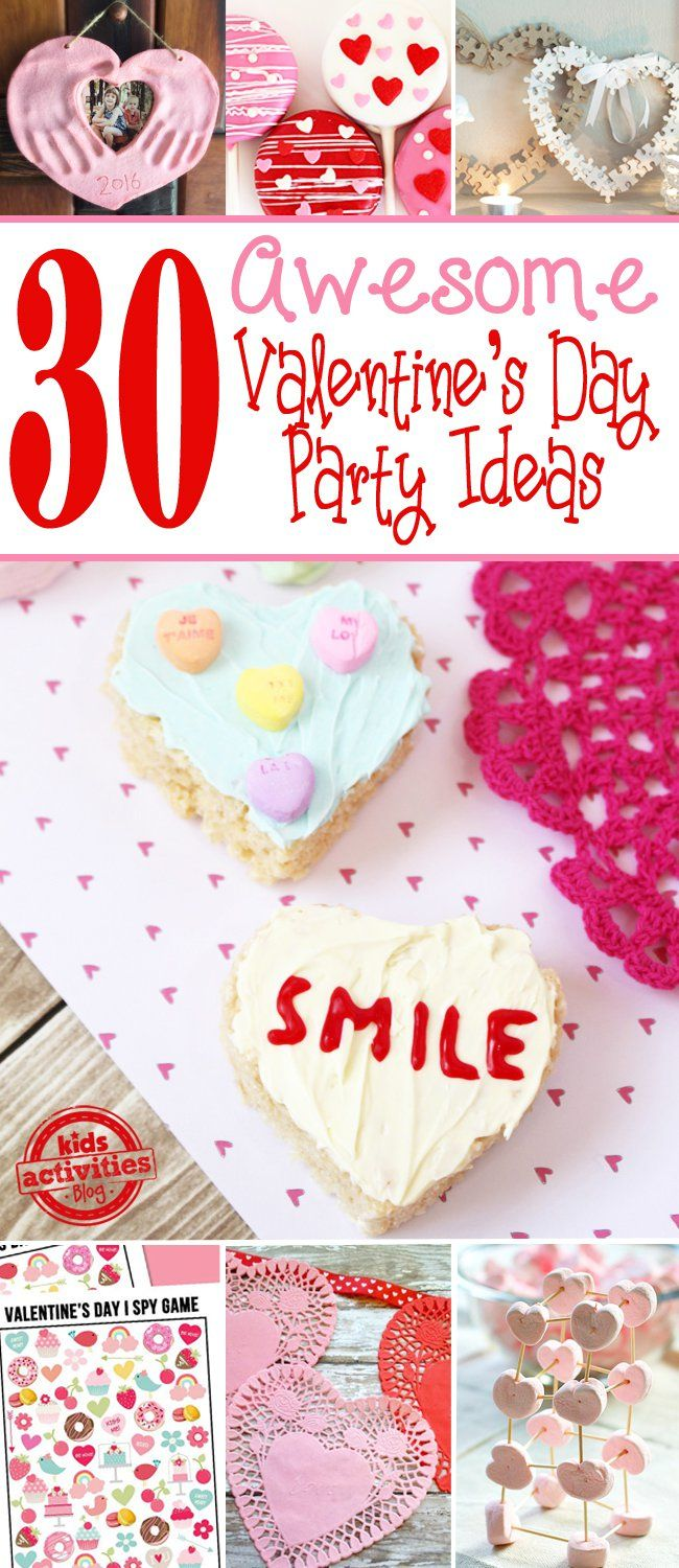 30 Awesome Valentines Day Party Ideas For Kids
