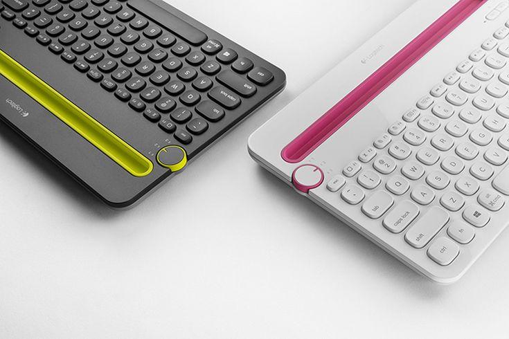 Logitech Bluetooth Multi Device Keyboard K480 by Feiz Design Studio