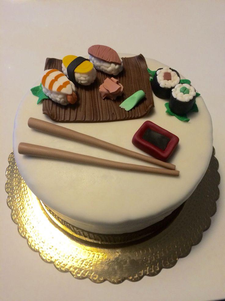 Sushi cake gladysbakery