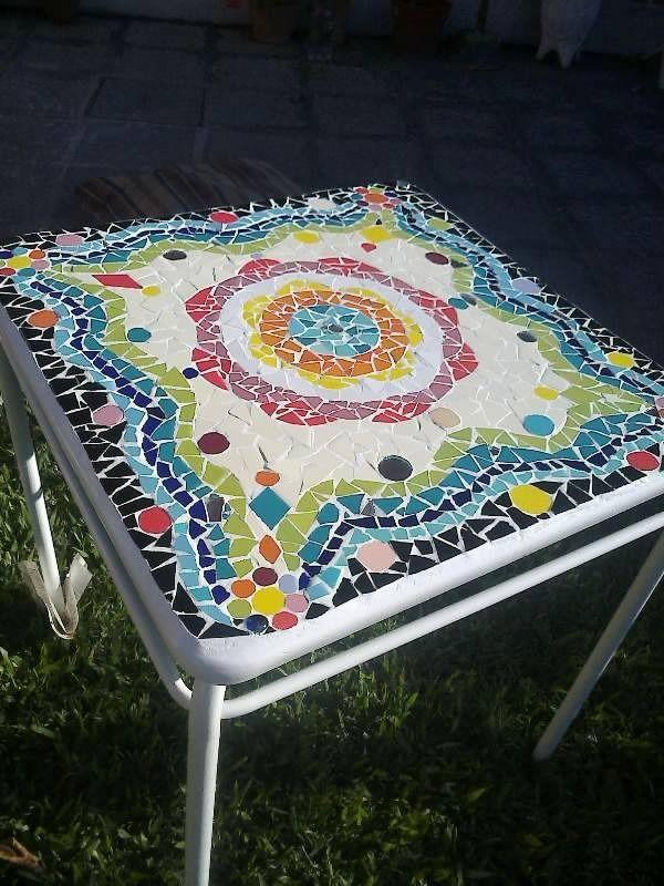 78 images about mesas con mosaicos on pinterest mesas for Mesas para jardin