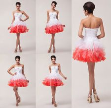Angel Women Short Formal Prom Cocktail Ball Evening Party Gown Homecoming Dress