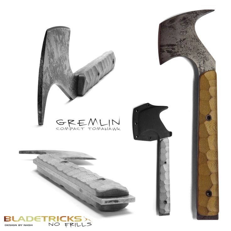 Bladetricks Gremlin Compact Tomahawk #tactical #zombie