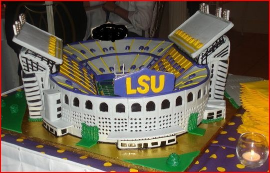 Tiger Stadium Groom's Cake