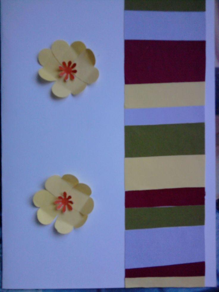 Another birthday card in colour code - egy újabb születésnapi képeslap, színkóddal