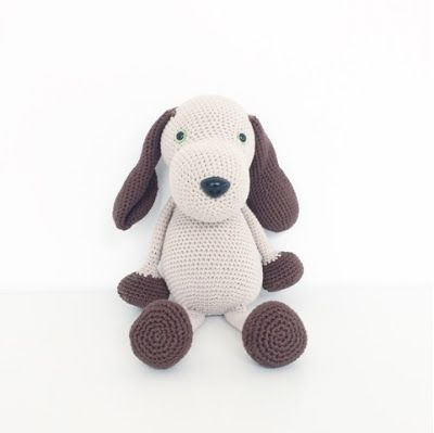 Annemarie's Haakblog: Crochet Dog and giveaway