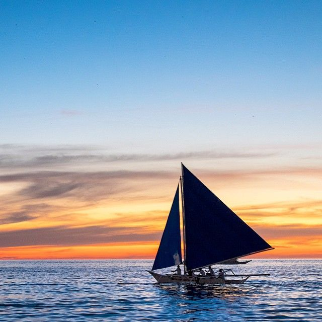 Same sunset, another frame. #Boracay, Aklan, Western Visayas, #Philippines.