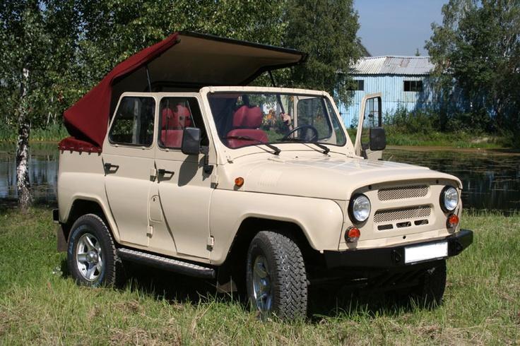 UAZ Cabriolet from standard UAZ