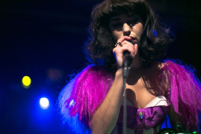 Kimbra at Webster Hall. Photo by Jack Jeffries