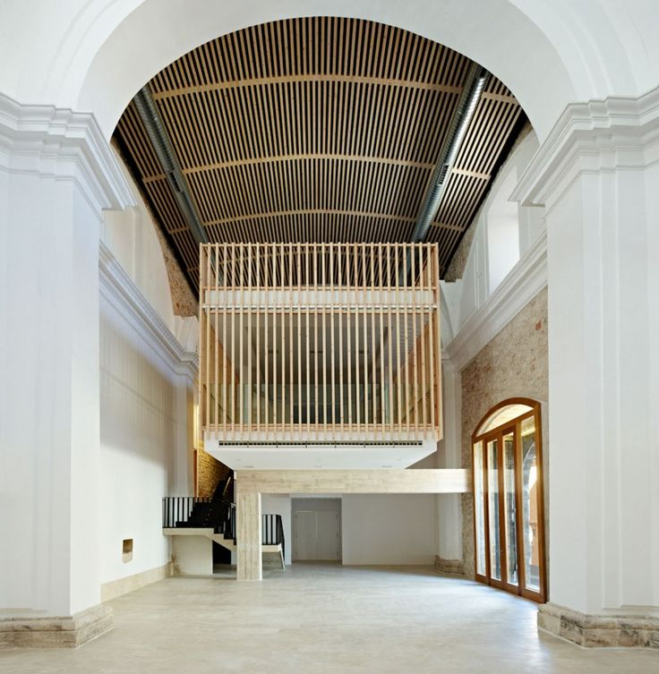 Restoration and adaptation of a 16th century Chapel in Brihuega / Adam Bresnick