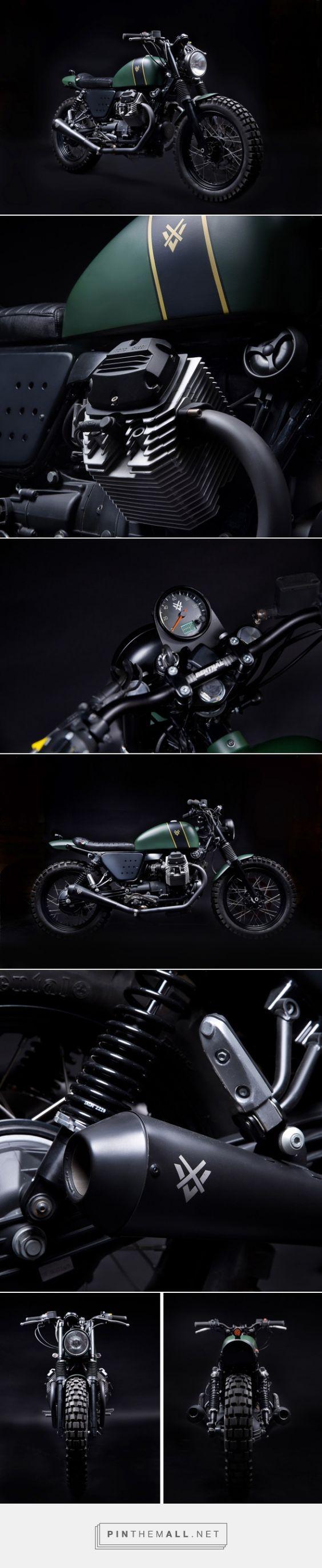 Venier Customs' Moto Guzzi 'Tractor 03' Click to read the full story