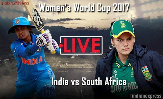 India vs South Africa, Live Cricket score, ICC Women's World Cup 2017: South Africa begin their innings