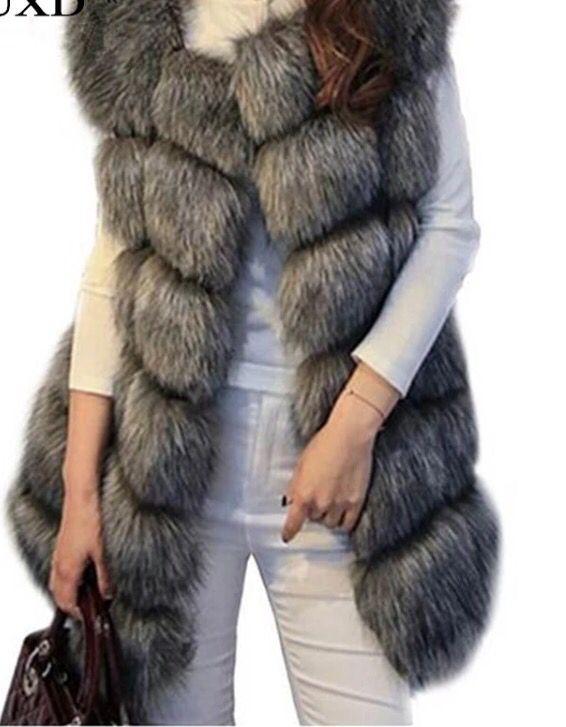 Grey faux fur Gillet  Order on insta FB