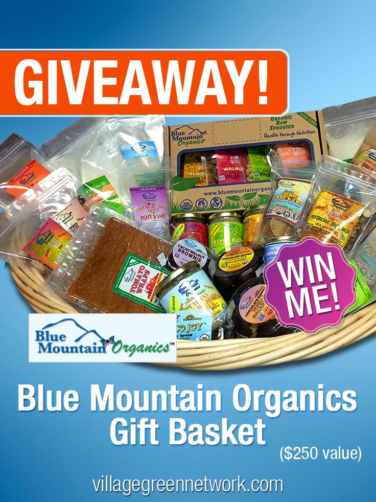 Giveaway: Blue Mountain Organics Gift Certificate -- $250 Value - CHEESESLAVE