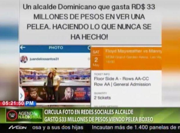 El Alcalde De Santo Domingo Este Gastó 33 Millones De Pesos Para Ver En Vivo Pelea Pacquiao-Mayweather #Video