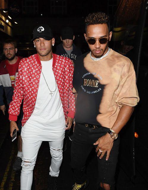 Buenos Gays Aires: Lewis Hamilton y Neymar salen juntos de fiesta por...