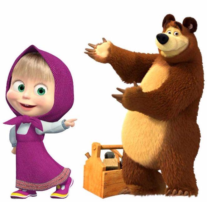 Детская картинки маша и медведь