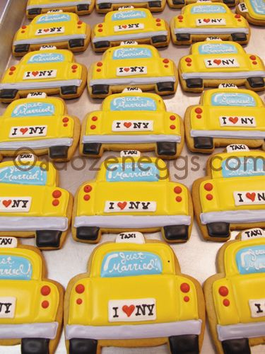 """Just Married!"" Taxi Favors"