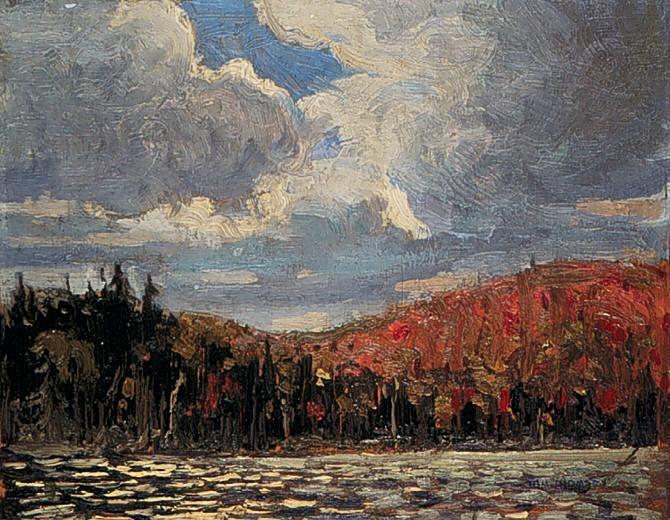 Smoke Lake - Tom Thomson