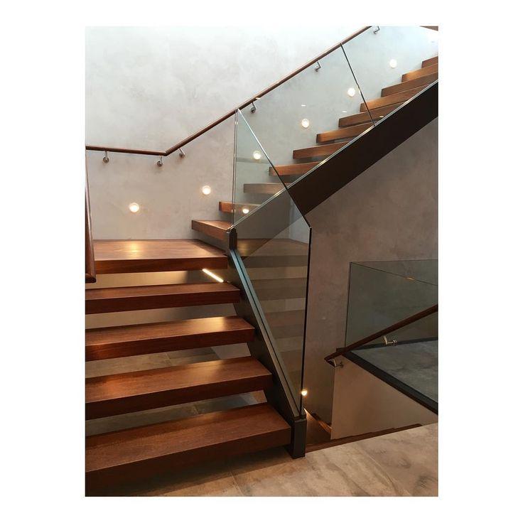 No filter needed. Completed #marlboroughtailor stair. #nofilter #highend #glass #walnut #interiordesign #carpentry #craftmanship #backbay #bostondesign #placetailor #stairporn #stair #condo #luxury #contemporary #minimal #architecture #design #finehomebuilding #home #renovation #retrofit #passivehouse #steel