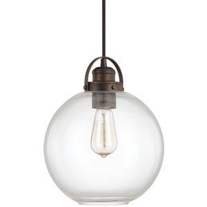 Capital Lighting C4641BB136 Mini-Pendant Pendant Light - Burnished Bronze