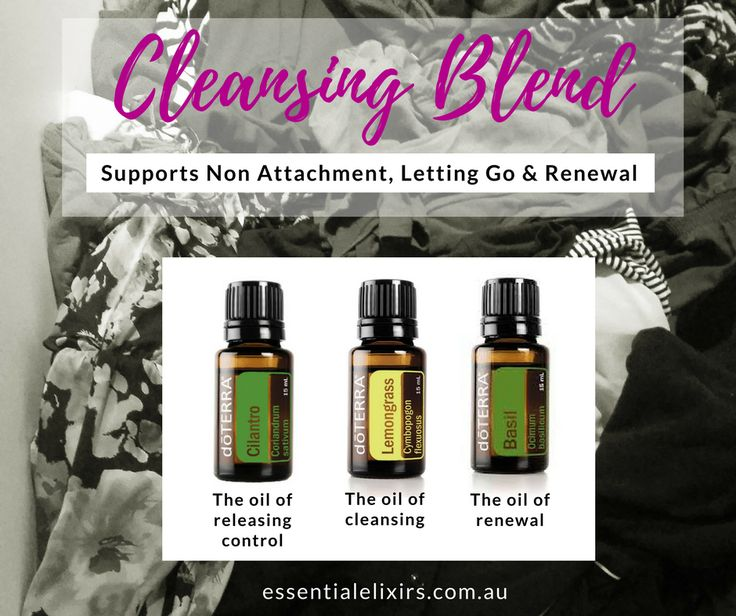 Essential Oil Cleansing Blend for Physical and Emotional Cleansing