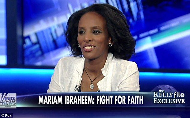 Meriam Ibrahim gave her first major news interview to Megan Kelly of Fox News -- so, so happy for this happy ending for her and her family!!!!!