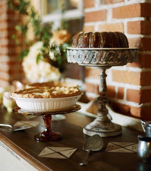 Dessert sideboard from DesignSponge.com