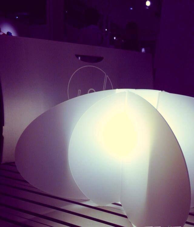 #joinlamp #lamps #lamp #light #white #macef2013 #milano #milan #wonderful #catalano