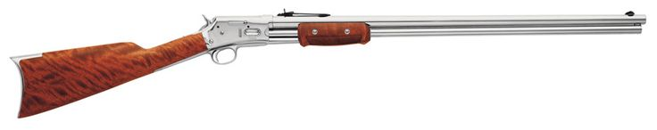THUNDERBOLT .45 COLT PUMP ACTION RIFLE IN STAINLESS STEEL