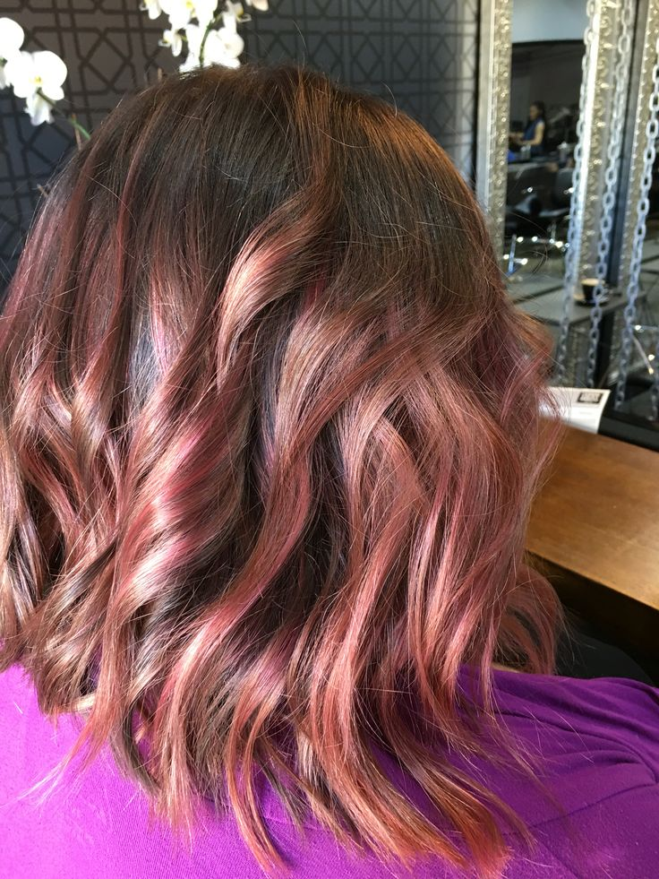 Colour by George cut by Johnny and style by Elisa