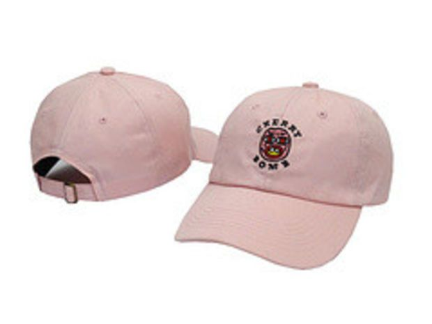 Cherry Bomb Pink Odd Future OFWGKTA Golf Wang Wolf Gang Hip Hop Snapback  Sports Cap Casquette Baseball Polo Strapback Hat  54883e5be069