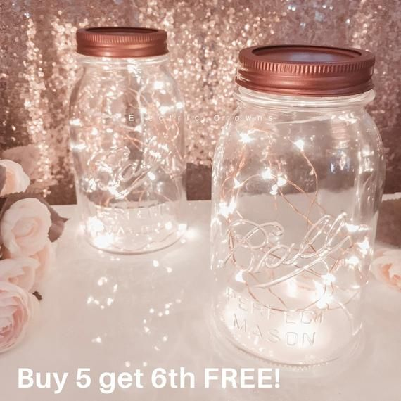 Mason Jar Fairy Lights For Lanterns