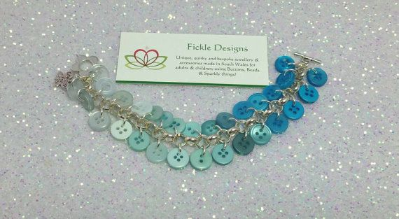 Check out this item in my Etsy shop https://www.etsy.com/uk/listing/279833968/turquoise-graduated-button-bracelet-75