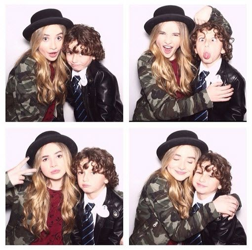 Photo: August Maturo's Sweet Message To Sabrina Carpenter On Her Birthday May 11, 2014