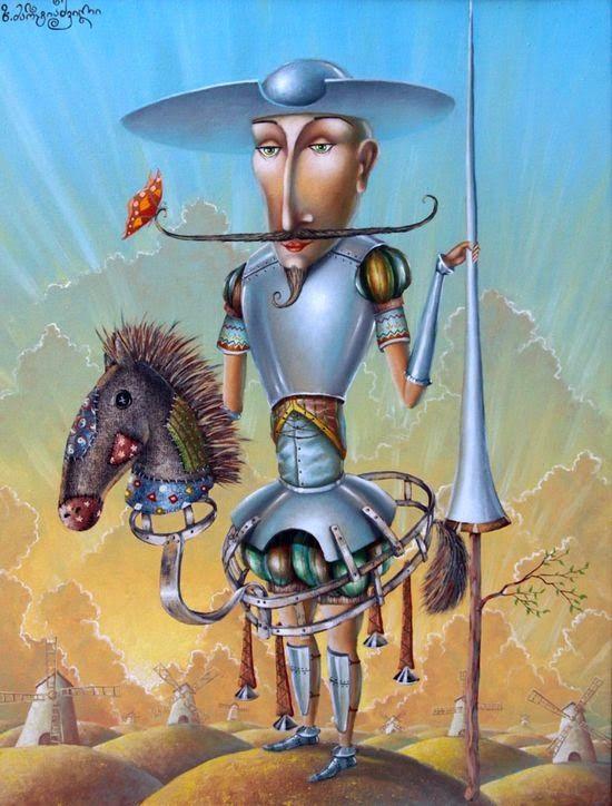 Don Quixote by   Zurab Martiashvili