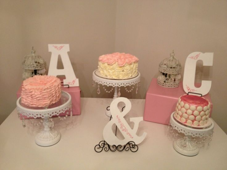 Wedding shower idea-the right letters, too! :)