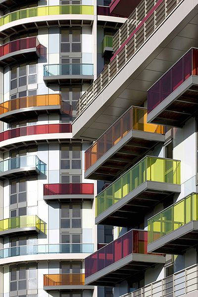 Icona, London - mixed use (including affordable housing)