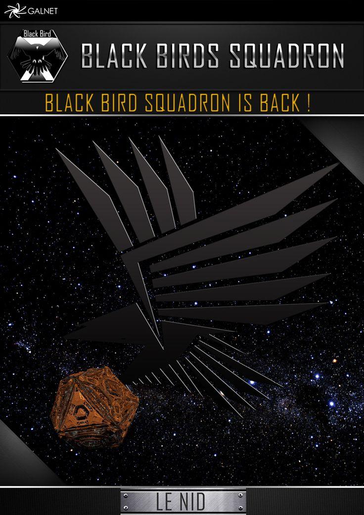 Black Birds Ad ©Black Birds Squadron - CMDR Blackseraph