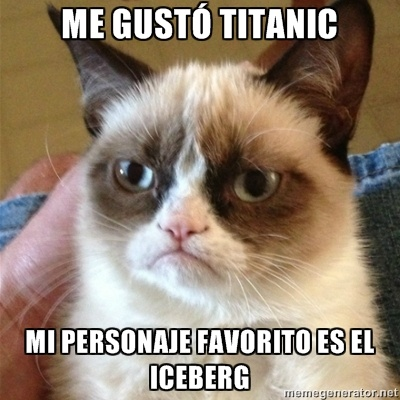 Grumpy Cat...even better en espanol