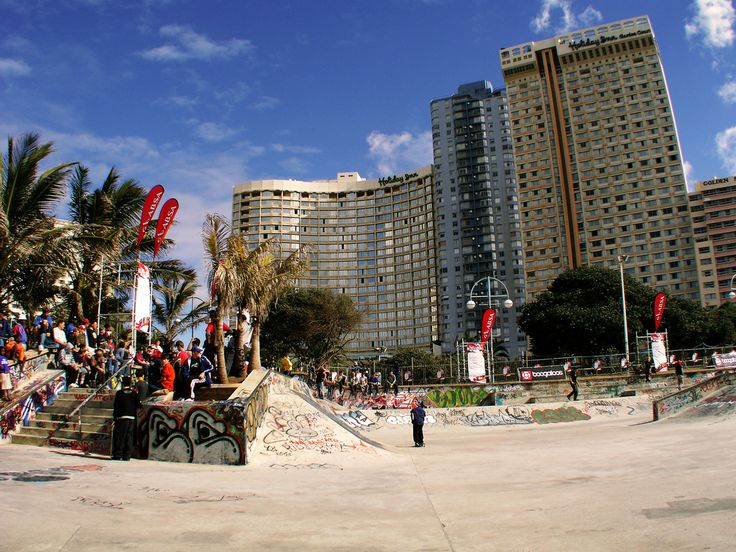 https://flic.kr/p/iWWbU | Skatepark, Durban North Beach