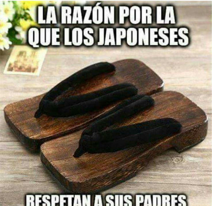 Con razón las japonesas llevan el mando en casa :D