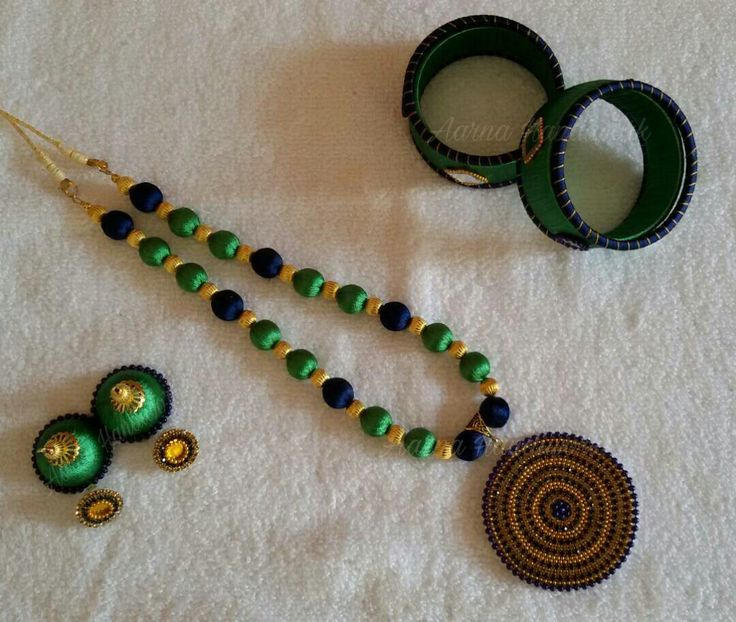 Rama Green Blue Necklace