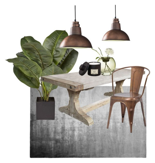 """Modern Country"" by olesya85 on Polyvore featuring interior, interiors, interior design, home, home decor, interior decorating, Designers Guild, Niche Modern, Dot & Bo and Shoreditch"