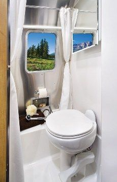 2015 airstream sport 16 travel trailer bathroom what a way to go pinterest travel for Travel trailer bathroom sinks